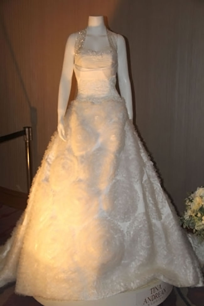 tina andrean wedding gown